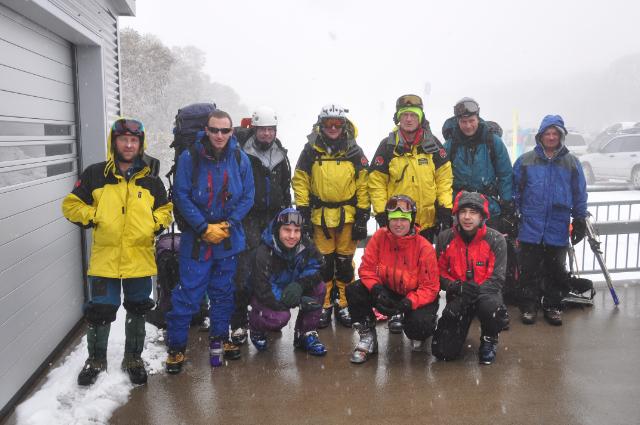 BSAR alpine team