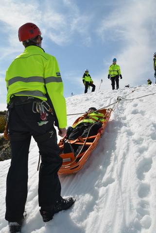BSAR Steep Snow and Ice training 2013