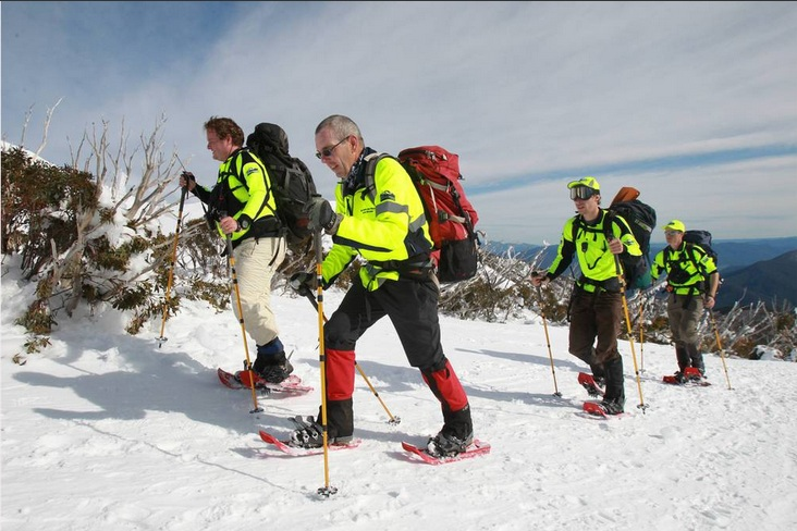 BSAR searchers on Eskdale Spur (Bordermail)