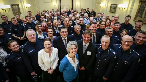 2015-04-22 Luke Shambrook thanks in Victorian Parliament