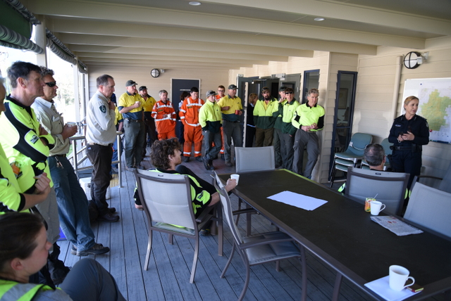 BSAR Mt Burrowa search debrief
