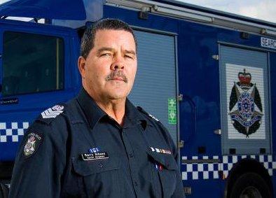 Senior Sergeant Barry Gibson