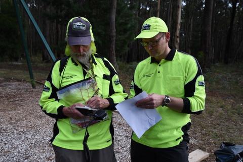 2017-03-25 BSAR training Korweinguboora