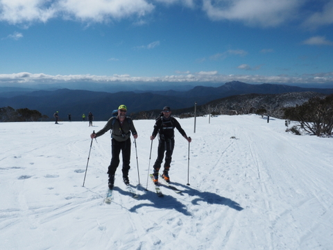 2017 BSAR ski training at Mt Stirling