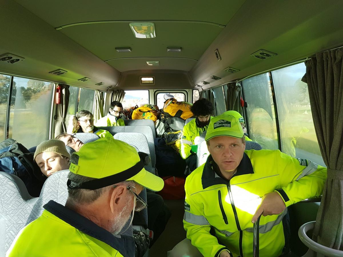 BSAR search team en route to Dederang