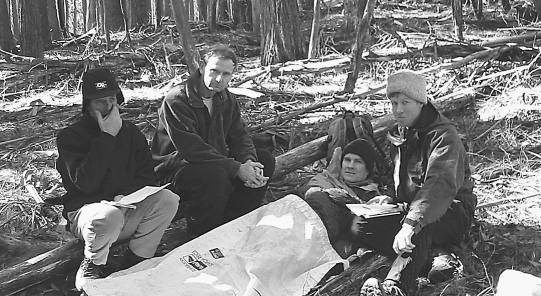 Patient management, Mt Stirling training 2001