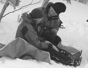 Patient care, training at Mt St Gwinear 2002