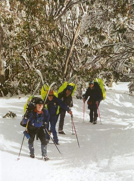 A long climb up from South Buller Creek 2001