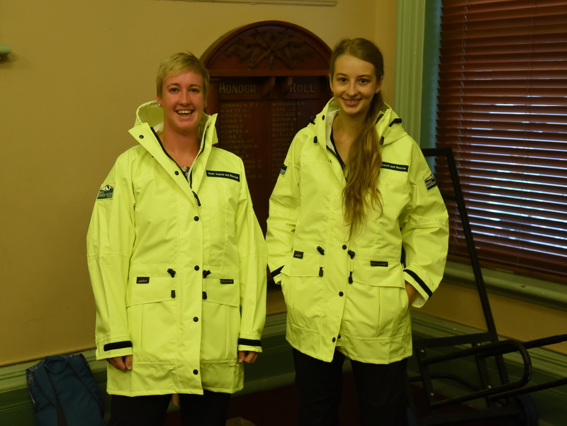 BSAR rain shell jackets