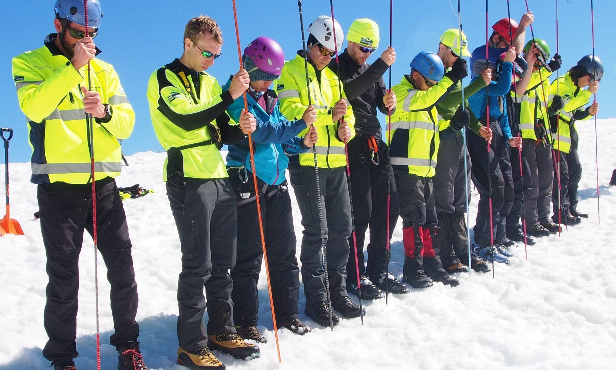 2014 BSAR Steep Snow Ice training at Razorback