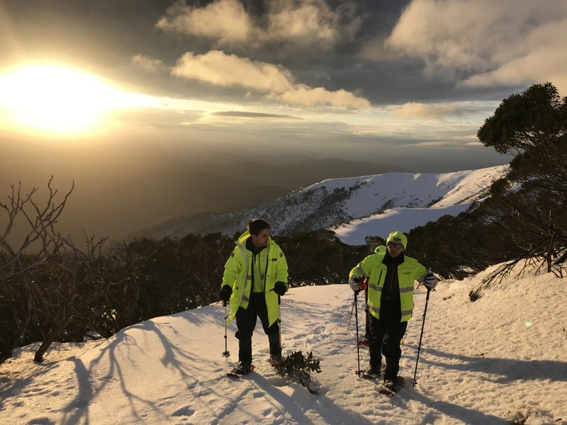 2018 BSAR Steep Snow and Ice Training at the Razorback