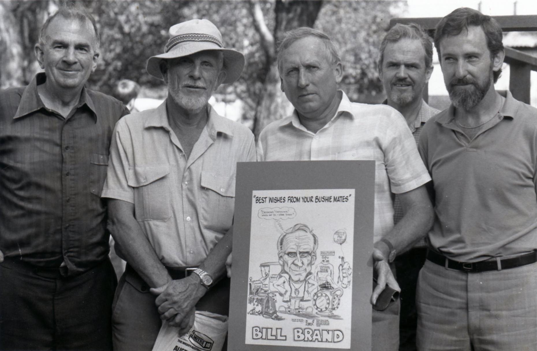 Bill Bewsher, Stuart Brookes, Bill Brand, Rod Lindgard and Phil Waring
