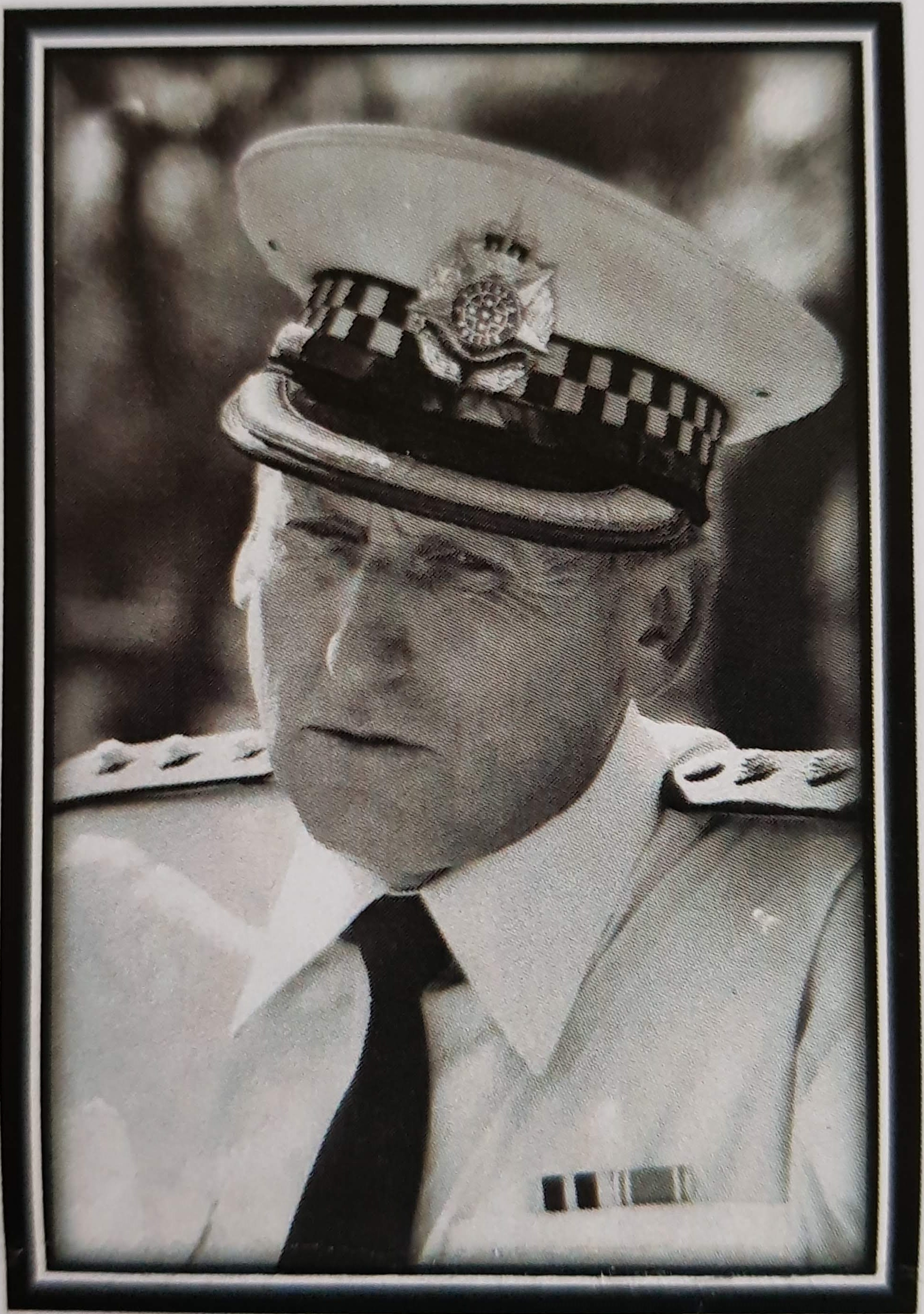 Bill Brand in uniform