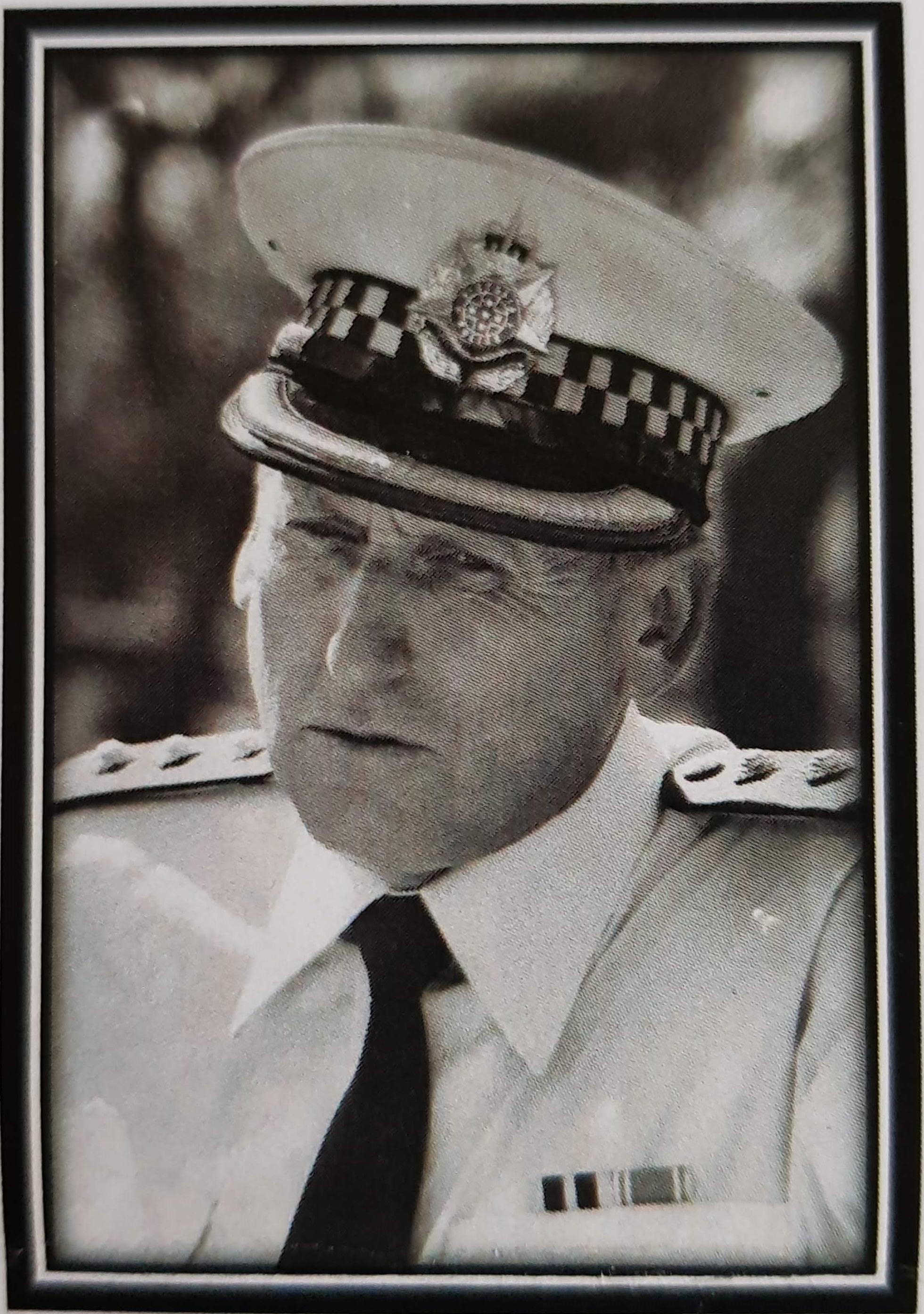 Bill Brand in uniform