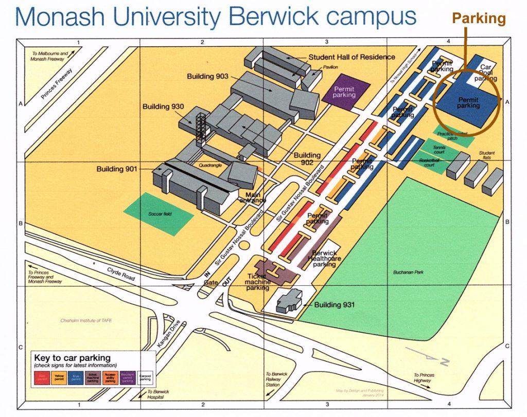 BSAR Berwick pickup location