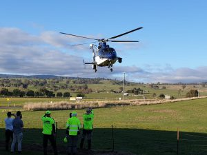 2019 Mt Buller search helicopter