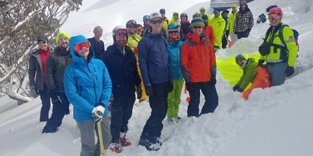 2019 Backcountry ski festival BSAR snow shelters
