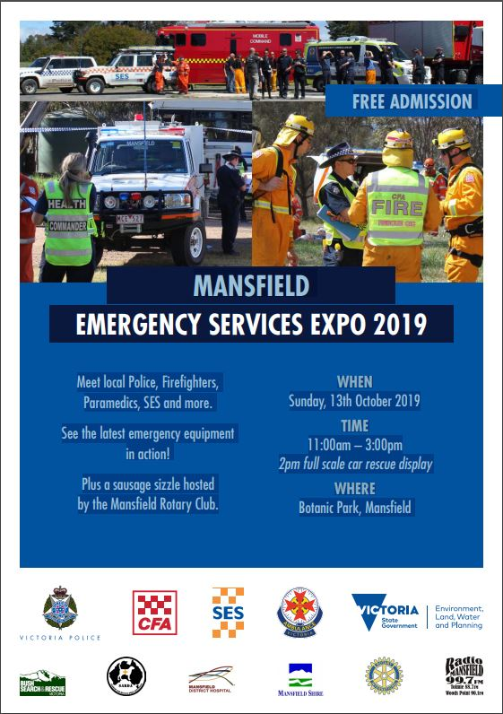 Mansfield Emergency Service Expo 2019